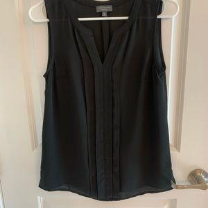 Black sleeveless blouse from The Limited XS